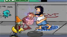 Бомжара против зомби