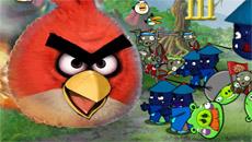 Злые птицы против зомби