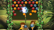 Jungle Bubble Shooter