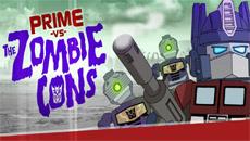 Оптимус Прайм против зомби