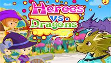 Герои против драконов
