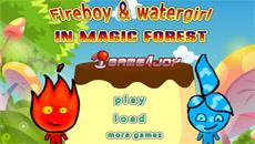 Огонь и Вода в Волшебном лесу