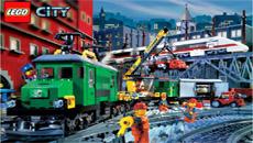 Лего: Поезд-змейка