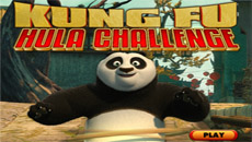 Кунг фу Панда: Тренировка с обручем