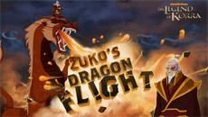 Аватар: полет Зуко на драконе