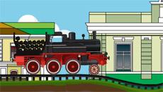 Перевозка угля на поезде