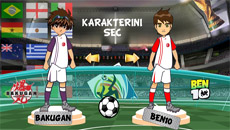 Бакуган против Бен 10: Футбол