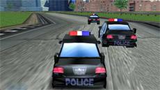 Гонки на полицейских тачках