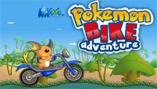Гонки с Пикачу на мотоцикле