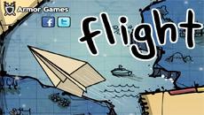 Полет на бумажном самолете