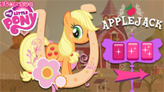 Эпплджек собирает яблоки