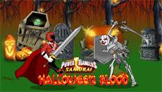 Рейнджеры самураи против скелетов