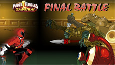 Рейнджеры самураи: Последная битва