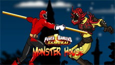 Рейнджеры самураи: Дом с монстрами