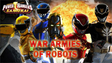 Рейнджеры самураи: Воздушная битва