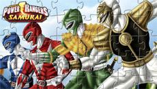Могучие рейнджеры: Онлайн пазл