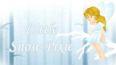 Маленькая снежная фея