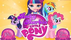 Барби и Май литл Пони