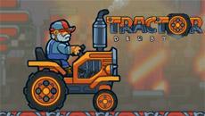 Дерби на тракторе