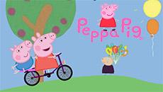Свинка Пеппа: Гонки на велосипеде