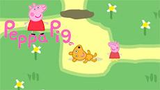 Свинка Пеппа в лабиринте