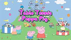 Свинка Пеппа: Настольный теннис