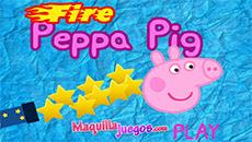 Свинка Пеппа Стрельба из пушки