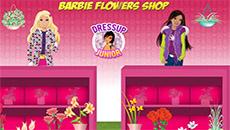 Барби в цветочном магазине