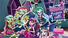 Вечеринка девушек монстров
