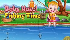Хейзел идёт на рыбалку