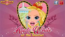 Эппл Вайт лечит зубы