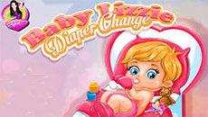 Малышка Лиза: Смена памперсов