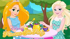 Чайная вечеринка принцесс Диснея