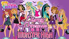 Принцессы в школе Монстров Хай