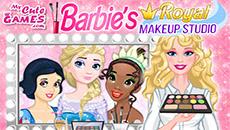 Королевский макияж от Барби