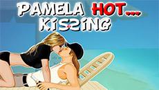 Горячий поцелуй Памелы