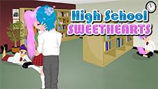 Поцелуи старшеклассников