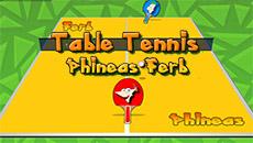 Фенис и Ферб: Настольный теннис