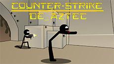 Стикмен: Counter Strike De_Aztec