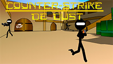 Стикмен: Counter Strike De_Dust