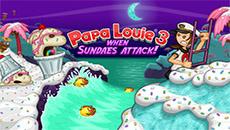 Папа Луи: Нападение Мороженомонстра