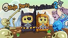 Ниндзя коты на острове скелетов