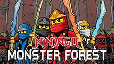 Ниндзя Го: Монстры в лесу