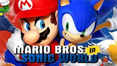 Марио в мире Соника