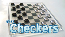 Стеклянные шашки