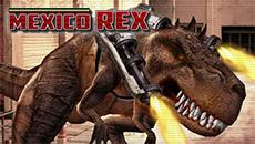 Тиранозавр в Мексике