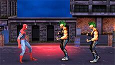 Человек паук: Уличные драки