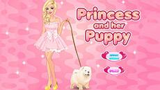 Барби и её собачка