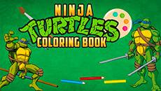 Раскраски: Черепашки ниндзя