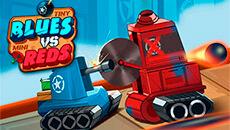 Синие танки против красных
